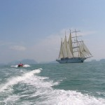 Star Flyer Clipper Ship, Thailand, Andaman Sea, 2005